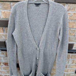 💫Theory multi colored wool cardigan